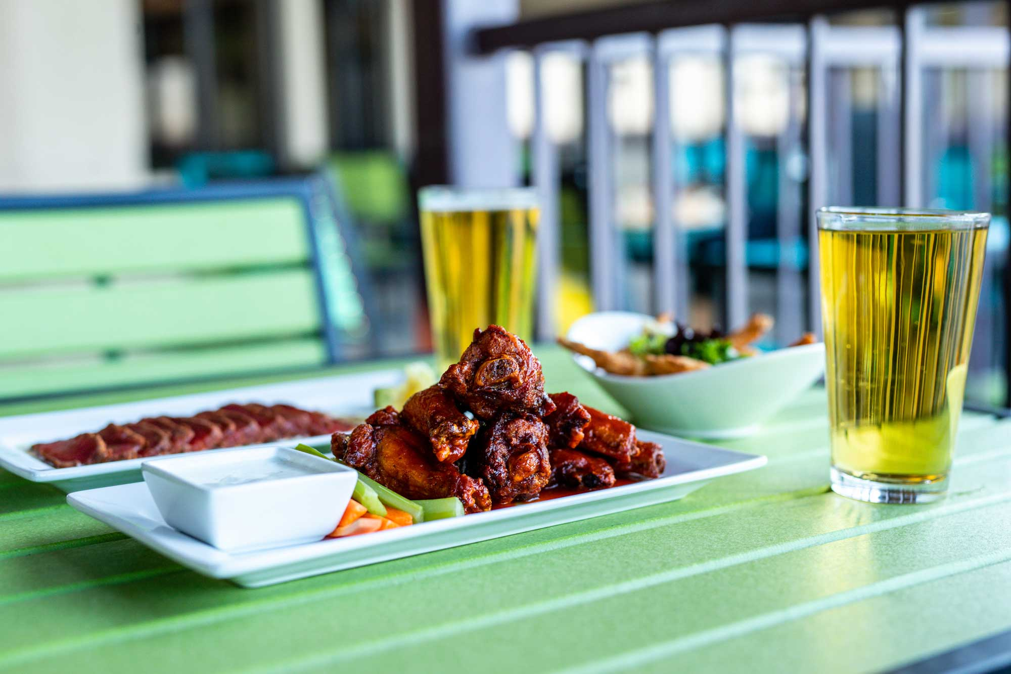 wings and beer at camden on the lake resort on lake of the ozarks
