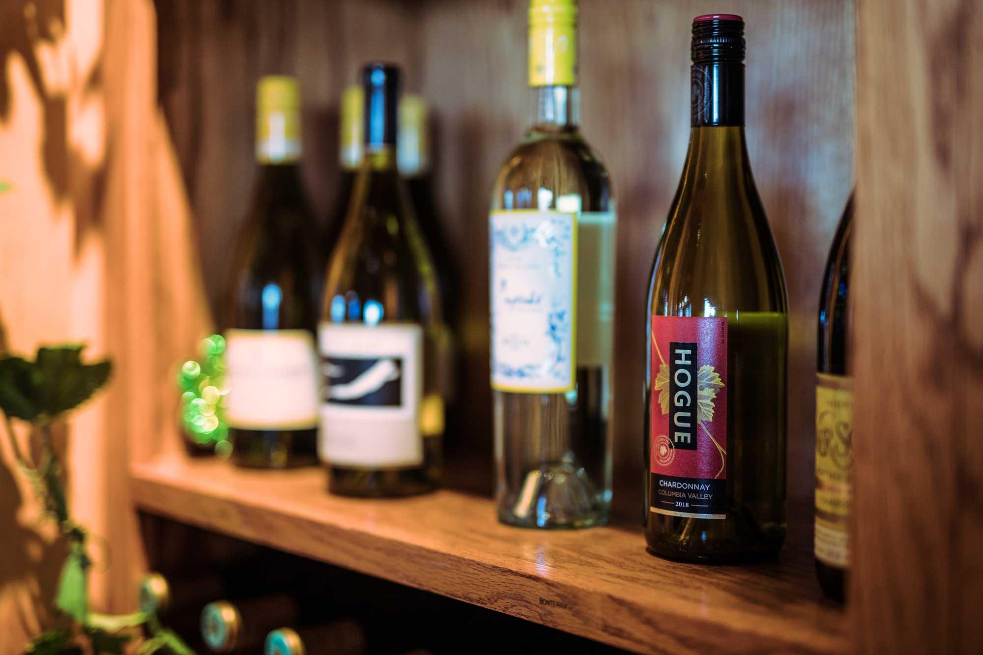 wine on shelf at camden on the lake lake of the ozarks