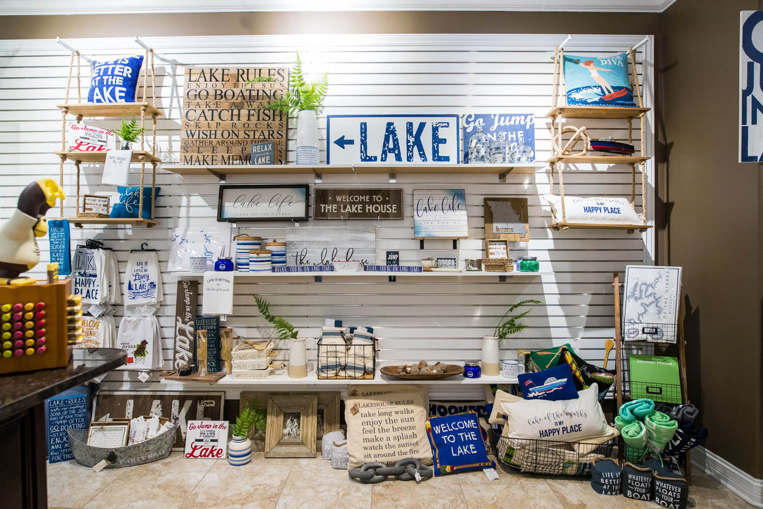 Gifts for sale Lake of the Ozarks Camden on the Lake Resort