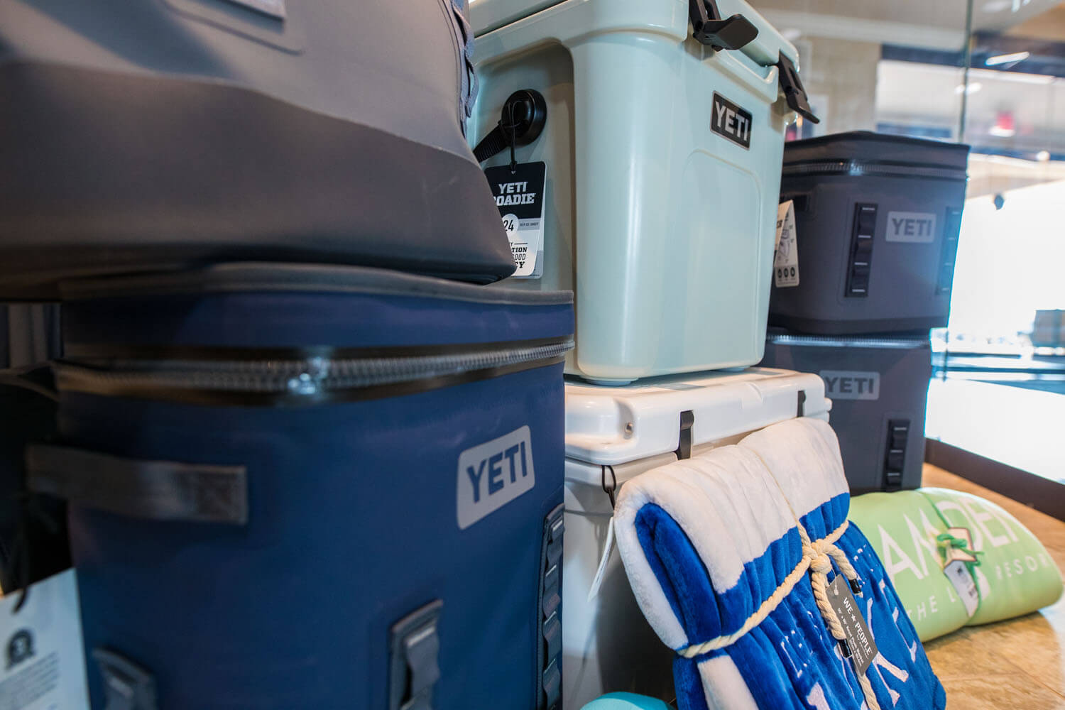 Yeti Coolers for Sale at Lake of the Ozarks Camden on the Lake Resort