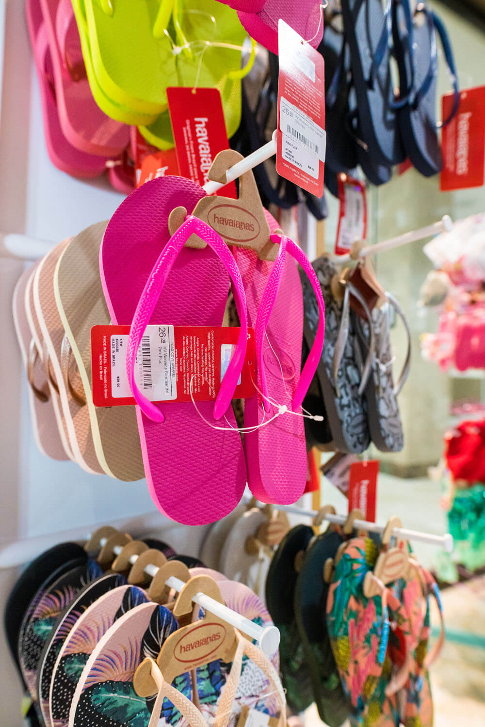 Sandals for sale at Camden on the Lake Lake of the Ozarks Resort