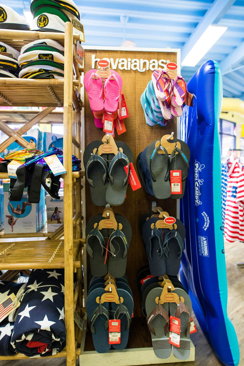 Sandals for sale camden on the lake gift shop